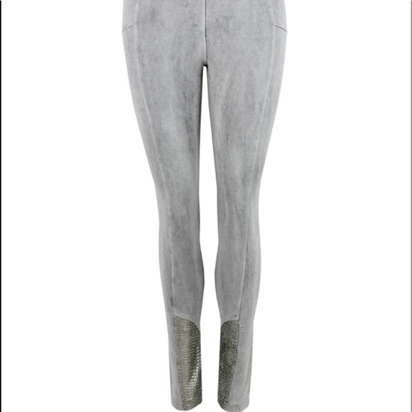 bd24a6d714d51 Elisa Cavaletti Grey Biker Style Leggings. M_5c16669cc89e1df883081efa